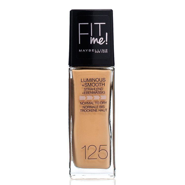 Maybelline Fit Me Liquid Foundation Nude Beige 125 30 ml