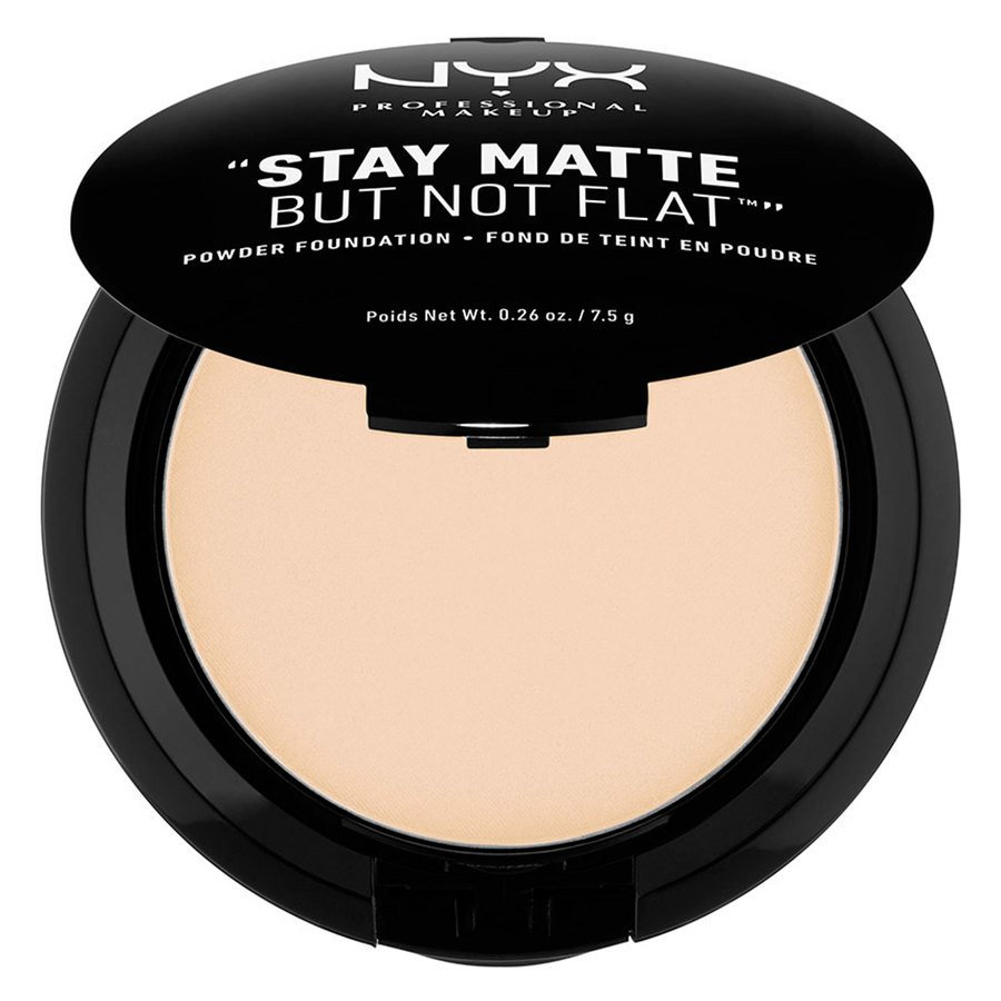 NYX Prof. Makeup Stay Matte But Not Flat Powder Foundation Ivory