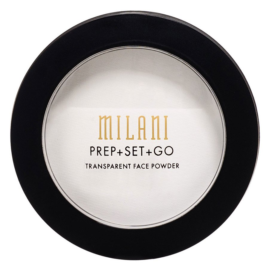 Milani Prep + Set + Go Transparent Face Powder (veganskt)  1,2g