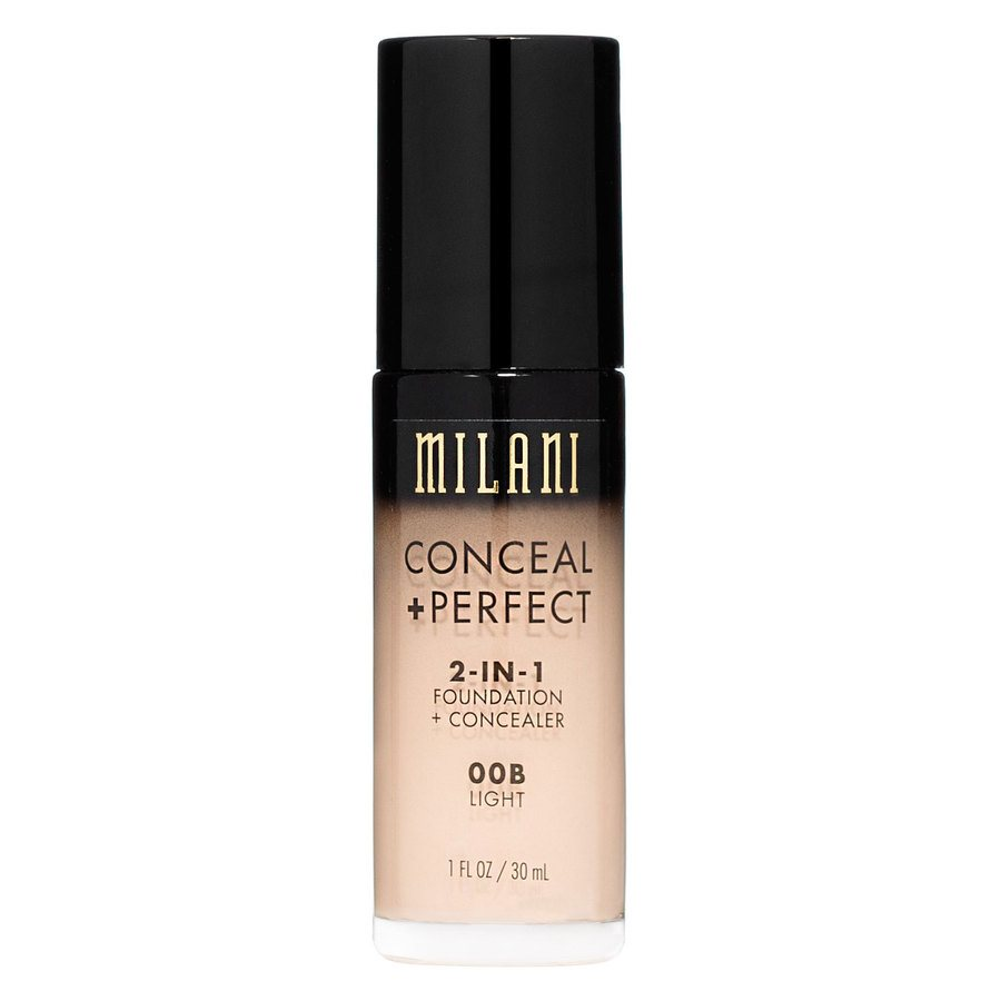Milani Conceal & Perfect 2 In 1 Foundation + Concealer Light 30ml