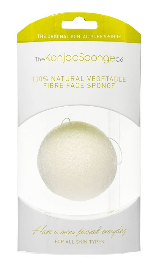 Original Korean Konjac Sponge White Konjac Sponge for all the skin types