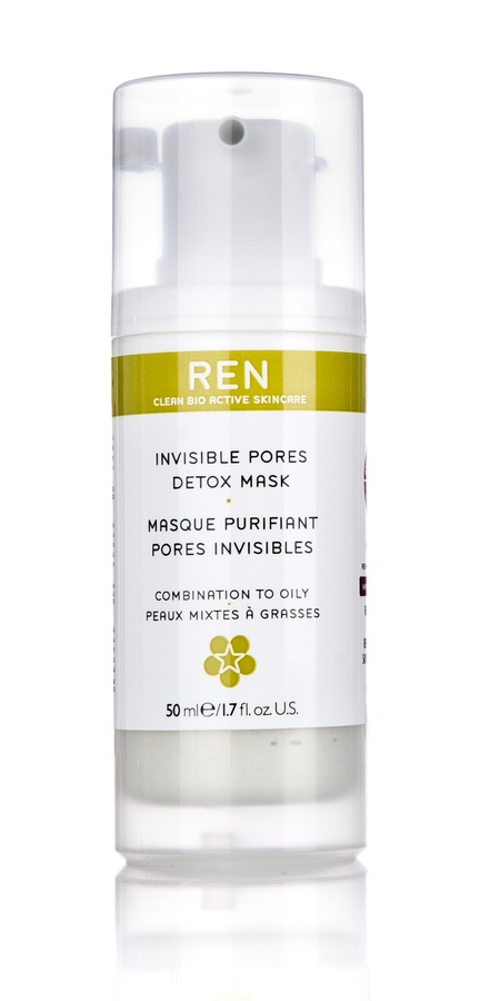 REN Invisible Pores Detox Mask 50 ml
