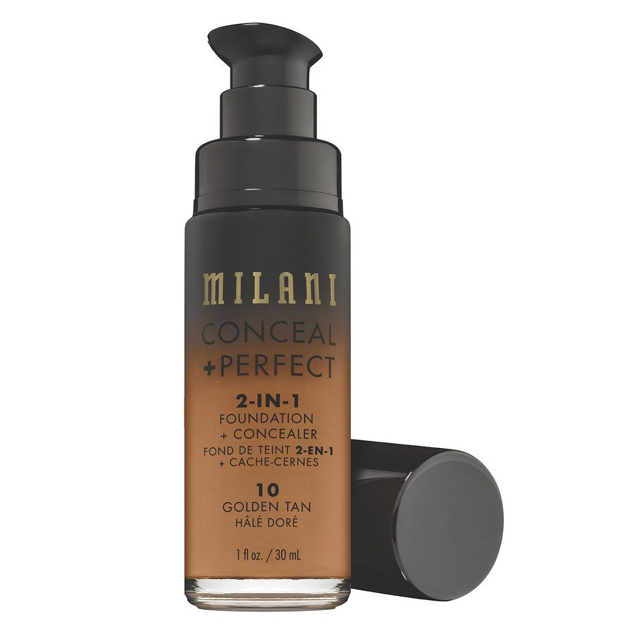 Milani Conceal & Perfect 2 In 1 Foundation + Concealer Golden Tan 30 ml