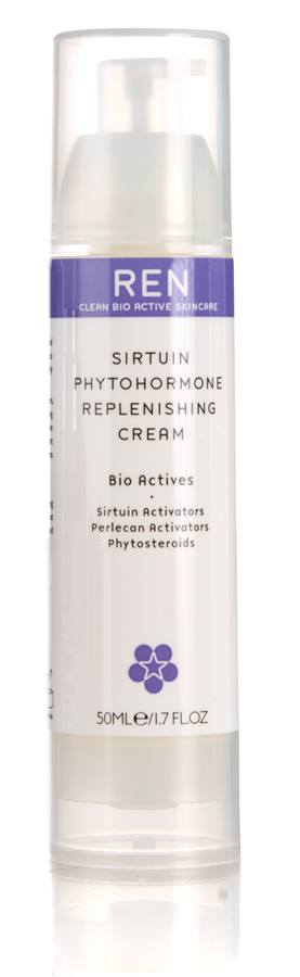 REN Sirtuin Phytohirmone Replenishing Cream 50 ml