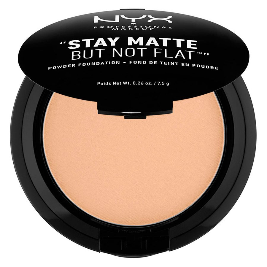 NYX Prof. Makeup Stay Matte But Not Flat Powder Foundation Warm Beige