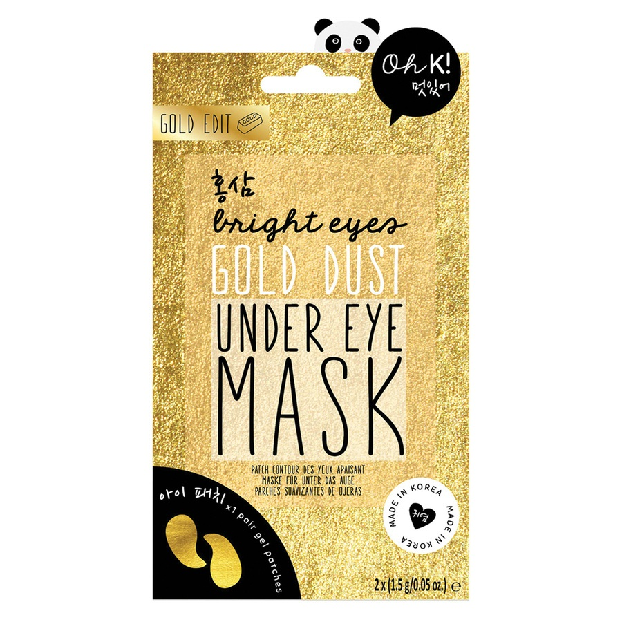 Oh K! Bright Eyes Gold Dust Under Eye Mask 2x 1,5g