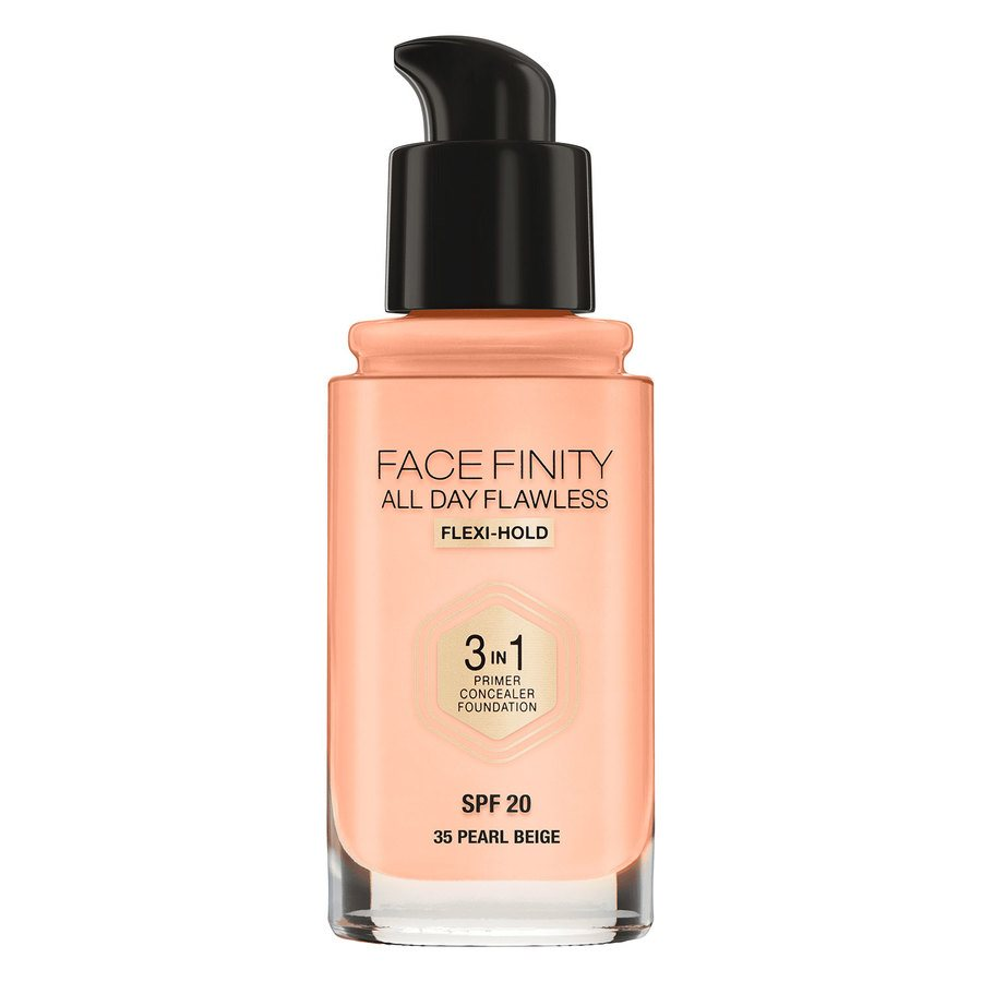 Max Factor Facefinity 3 In 1 Foundation 35 Pearl Beige 30 ml