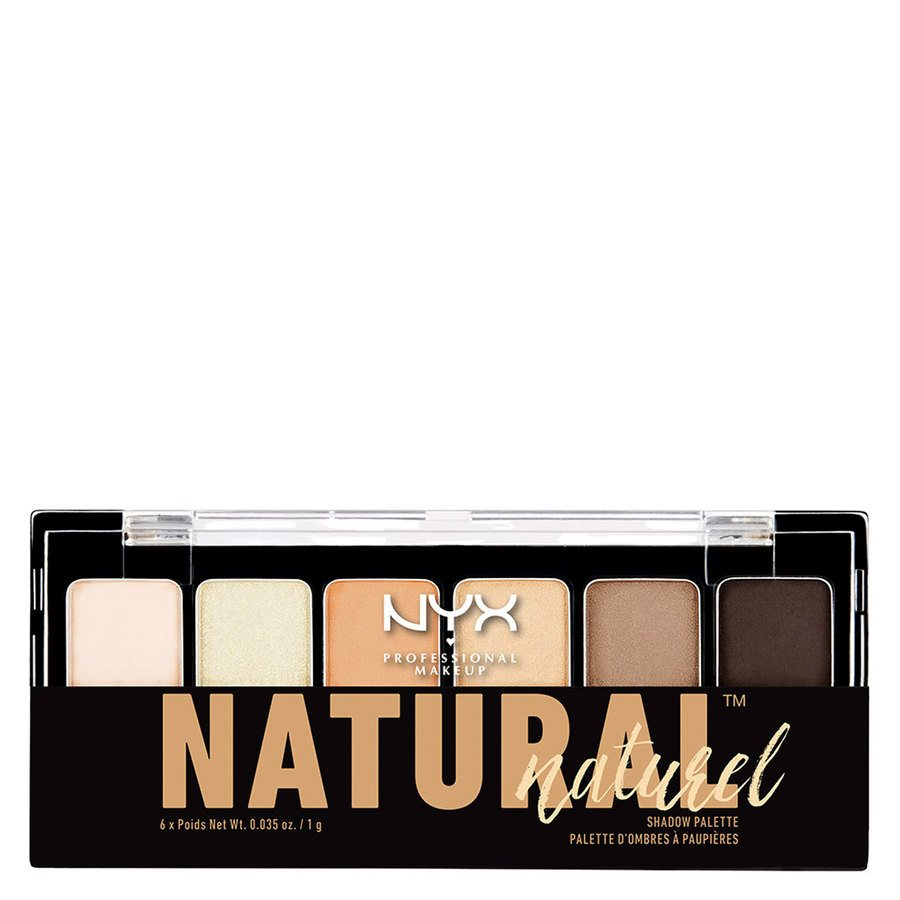 NYX Prof. Makeup The Natural Shadow Palette