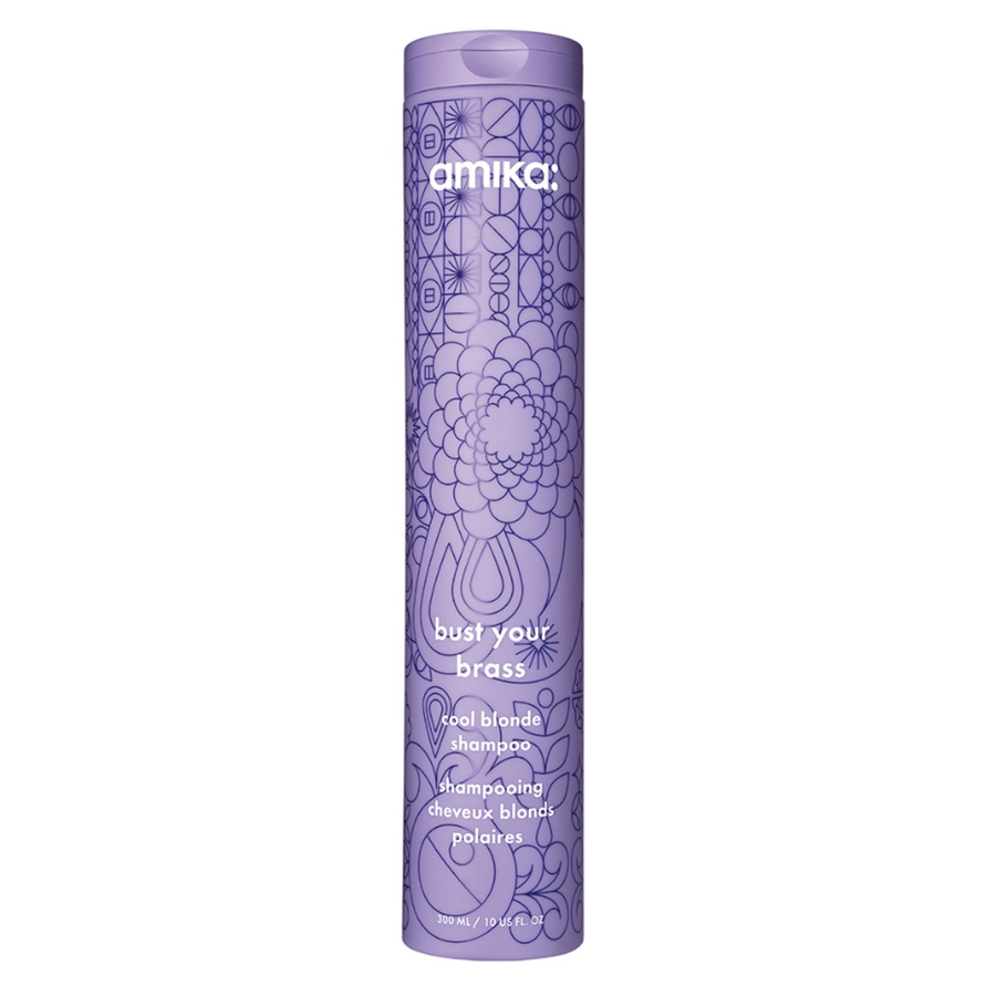 Amika Bust Your Brass Cool Blonde Shampoo 300ml