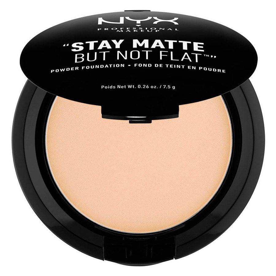 NYX Professional Makeup Stay Matte But Not Flat Powder Foundation Natural