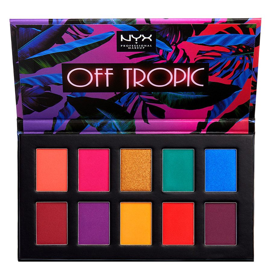 NYX Professional Makeup Off Tropic Shadow Palette 01 Hasta La Vista