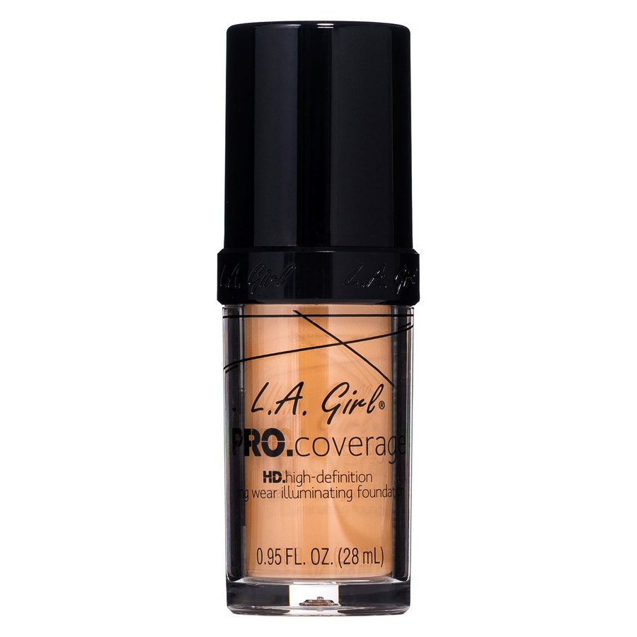 L.A. Girl Pro Coverage Illuminating Foundation GLM649 Tan