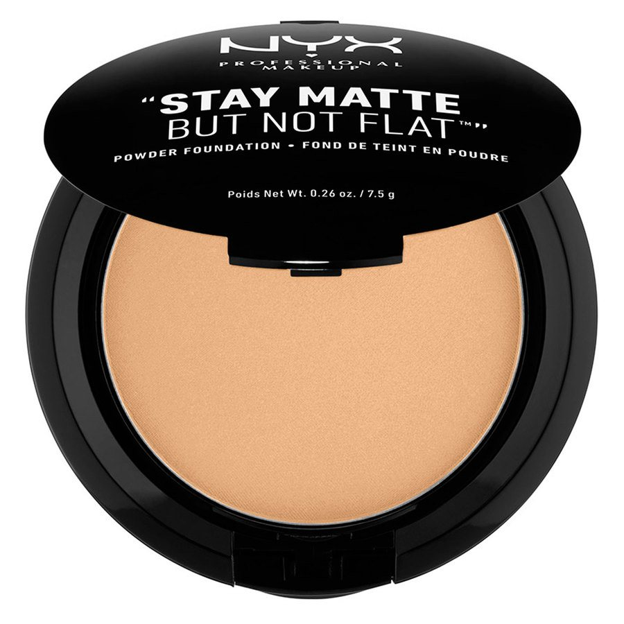 NYX Professional Makeup Stay Matte But Not Flat Powder Foundation Tan