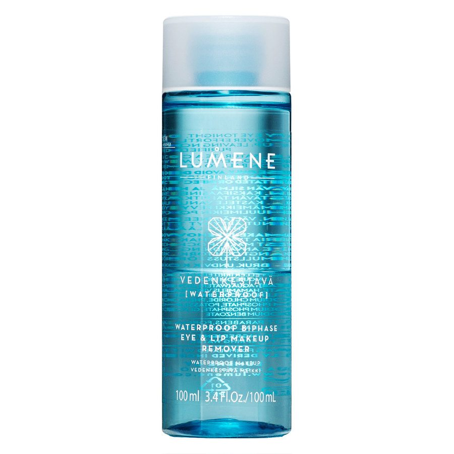Lumene VEDENKESTÄVÄ Waterproof Eye & Lip Makeup Remover 100ml