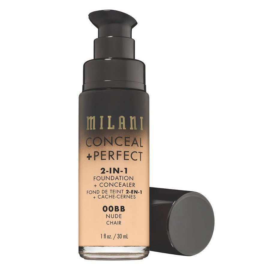 Milani Conceal & Perfect 2-in-1 Foundation + Concealer Nude 30 ml