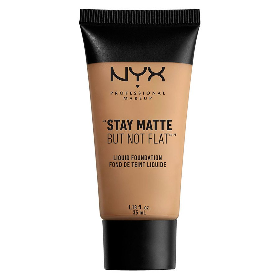 NYX Professional Makeup Stay Matte But Not Flat Liquid Foundation Caramel 35 ml SMF10