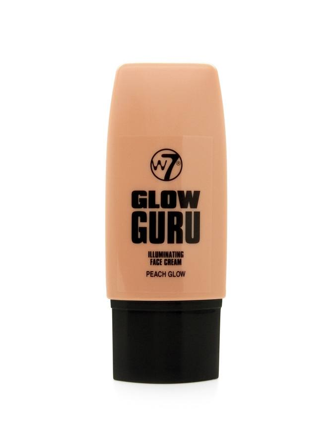 W7 Glow Guru Illuminating Face Cream Peach Glow 35 ml
