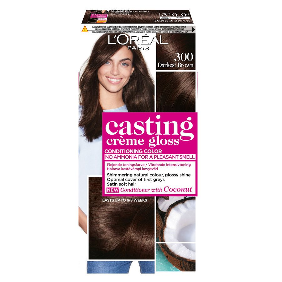 L'Oréal Paris Casting Creme Gloss 300 Darkest Brown