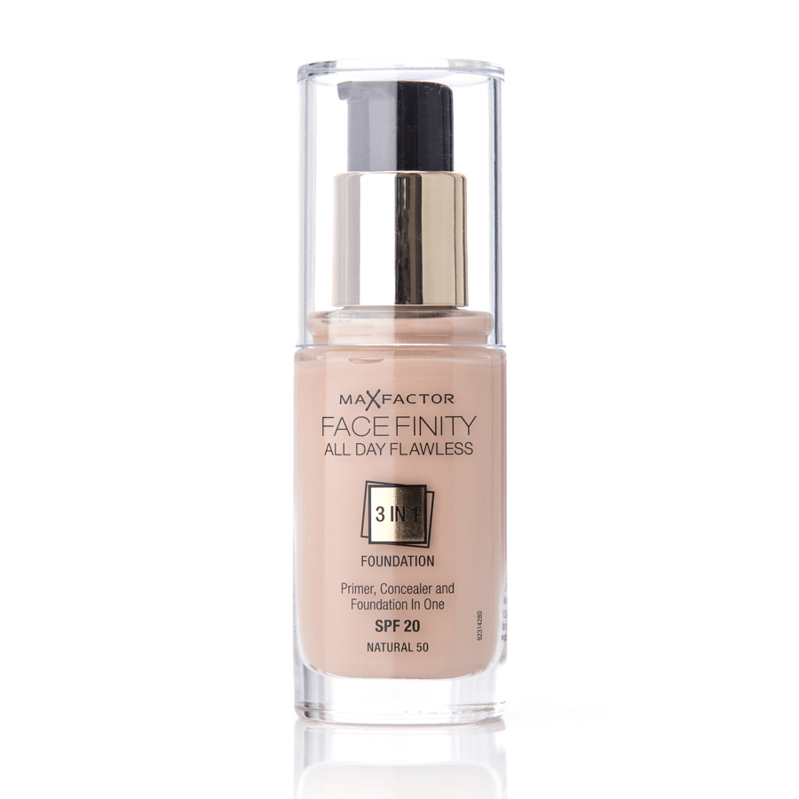 Max Factor Facefinity 3 In 1 Foundation 50 Natural 30 ml