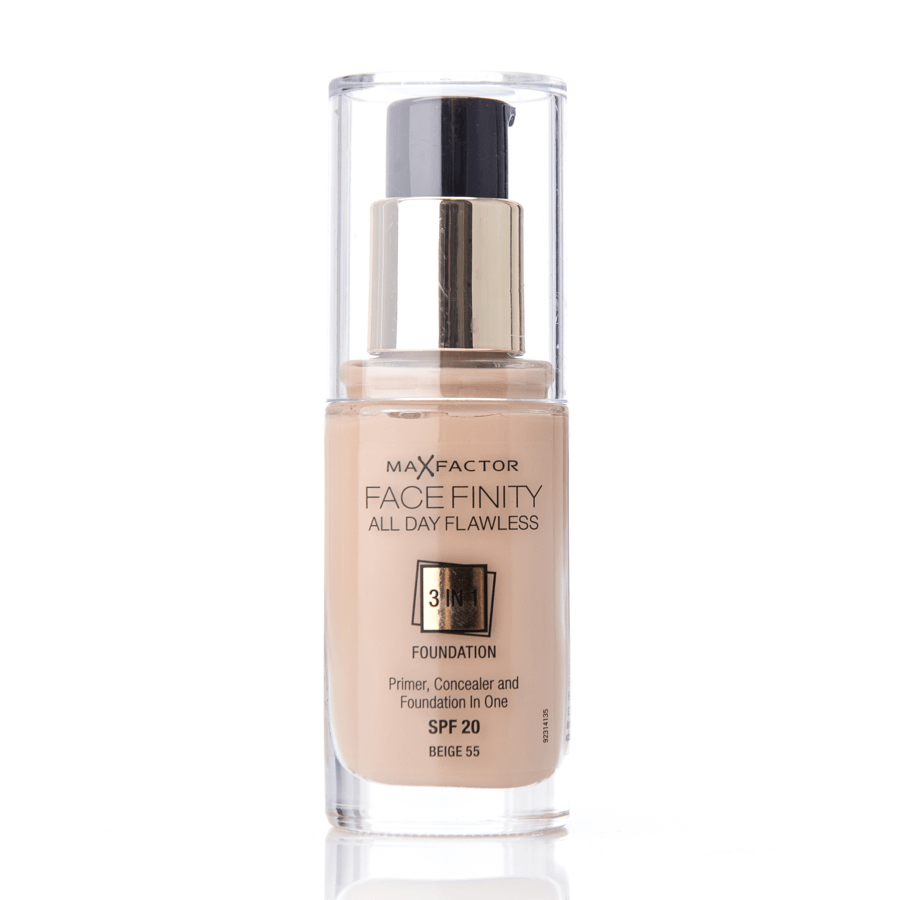 Max Factor Facefinity 3 In 1 Foundation 55 Beige 30 ml