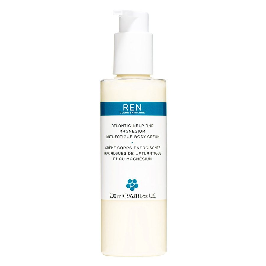 REN Atlantic Kelp and Magnesium Salt Anti-Fatigue Body Cream 200ml