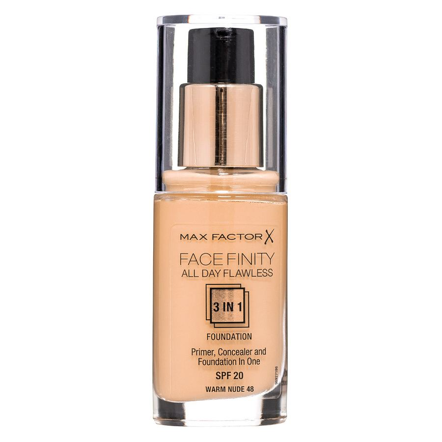 Max Factor Facefinity 3 In 1 Foundation 48 Warm Nude 30 ml