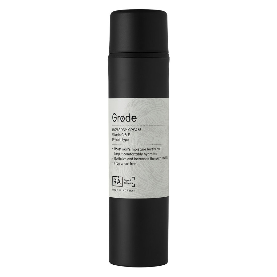 RÅ Organic Skincare (Exp 03.2019) Grøde Rich Body Cream 150ml