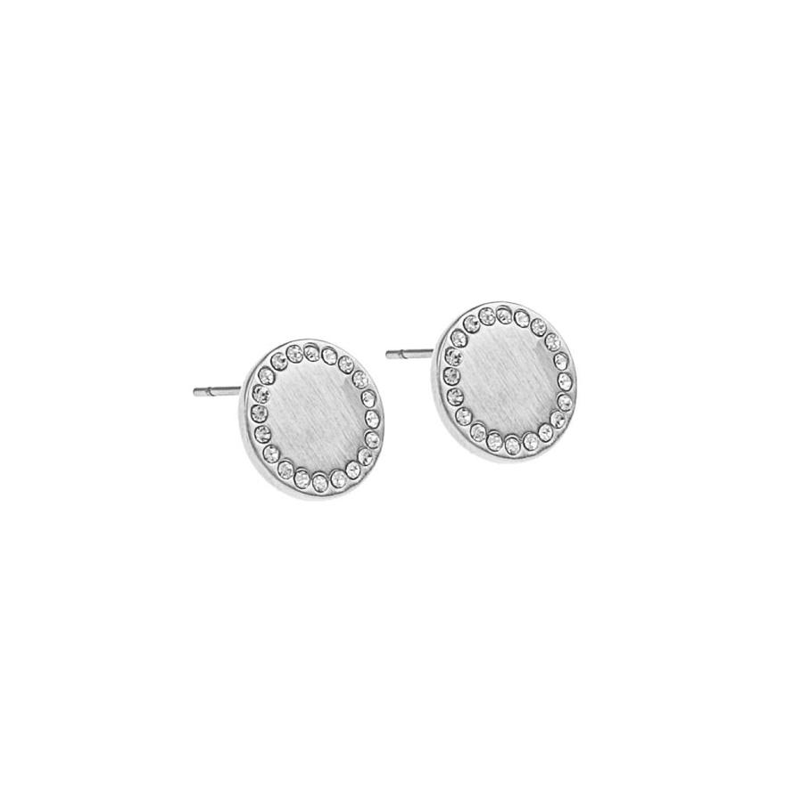 Snö Of Sweden Selma Small Earring Silver/Clear 12 mm