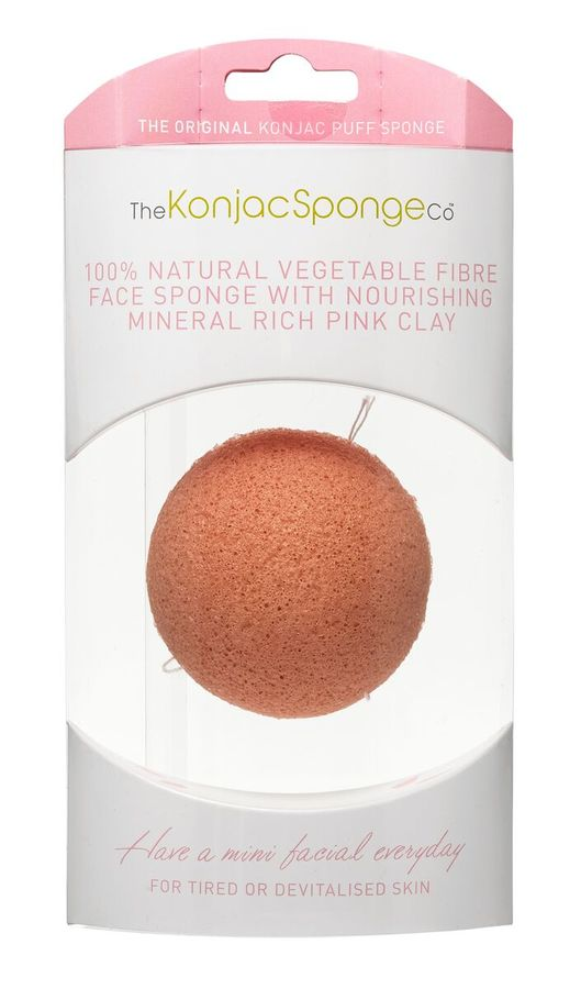 Original Korean Konjac Sponge Pink Konjac Sponge for sensitive skin