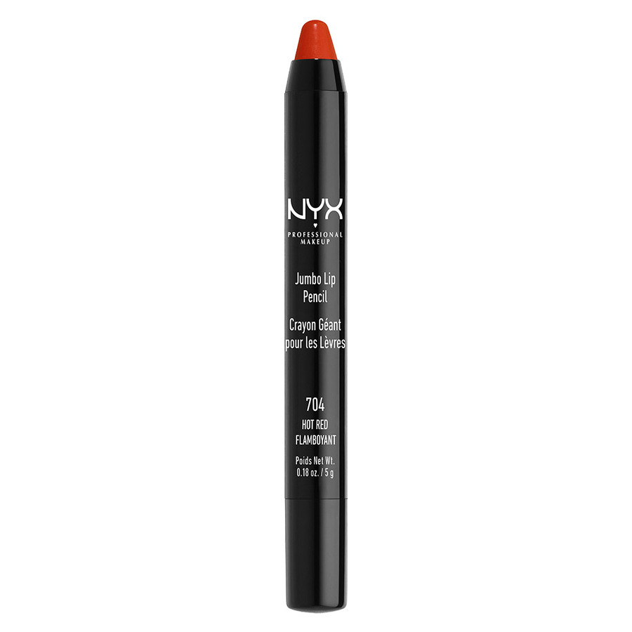 NYX Prof. Makeup Jumbo Lip Pencil 704 Hot Red