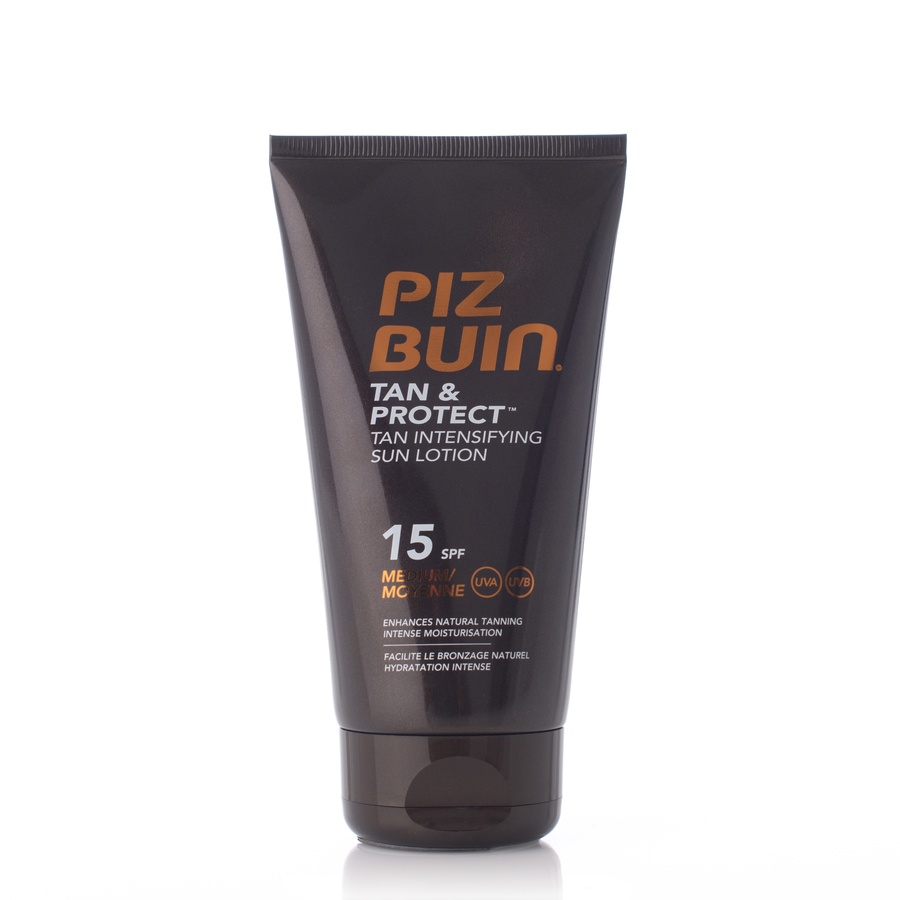 Piz Buin Tan & Protect Sun Lotion SPF15 150ml