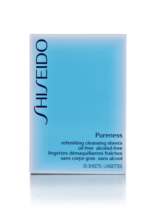 Shiseido Pureness Refreshing Cleansing Sheets 30 st