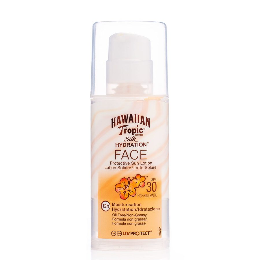 Hawaiian Tropic Silk Hydrate Face Lotion SF30 50ml