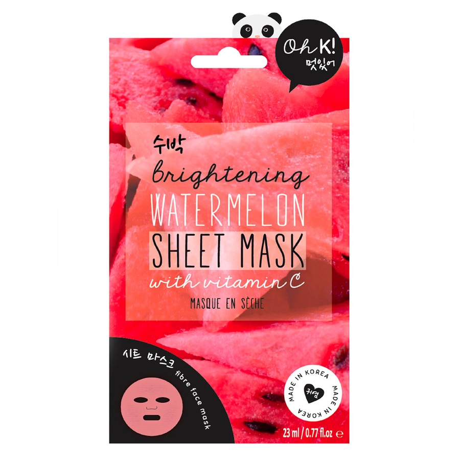 Oh K! Brightening Watermelon Sheet Face Mask 23ml