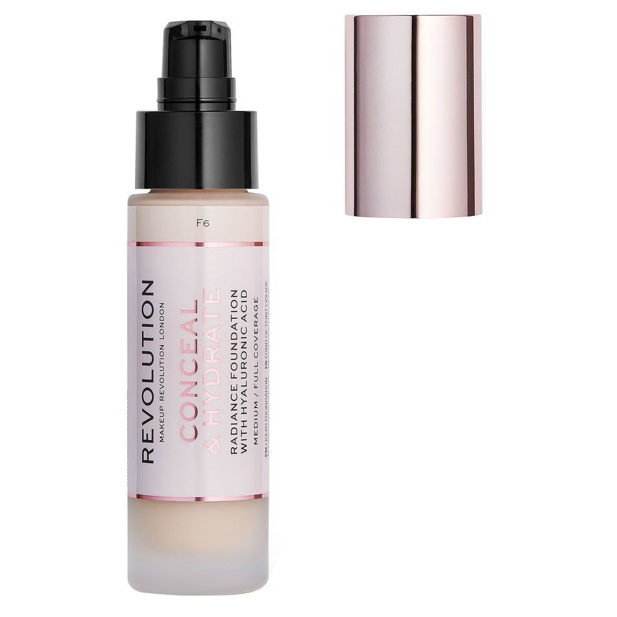Makeup Revolution Conceal & Hydrate Foundation F6 23 ml