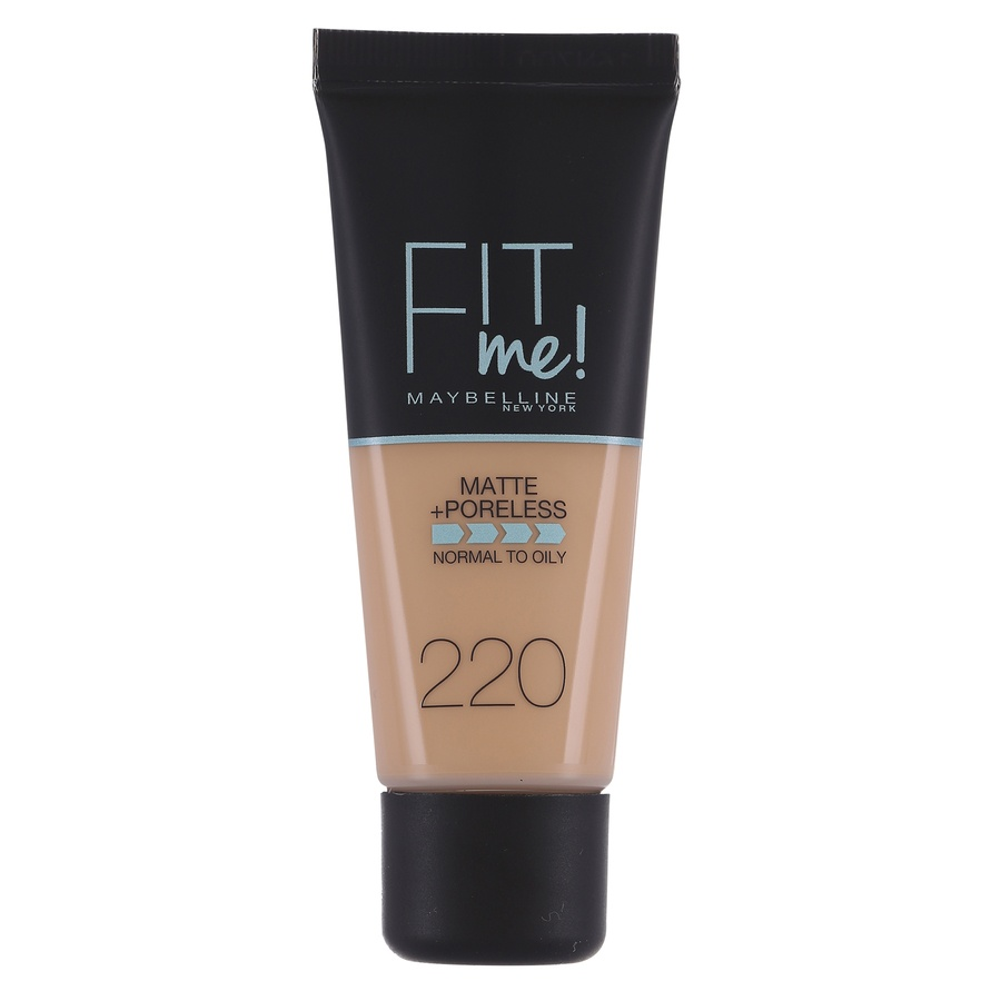 Maybelline Fit Me Makeup Matte + Poreless Foundation 220 30ml Tube