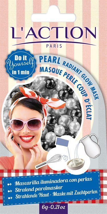 L'Action Paris Pearl Radiant Glow Mask 10 g