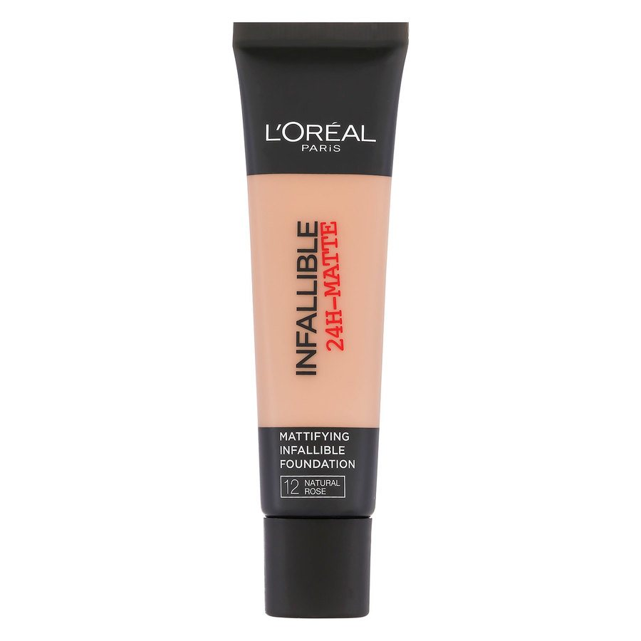 L'Oréal Paris Infallible 24h Matte Foundation #12 Natural Rose 35 ml