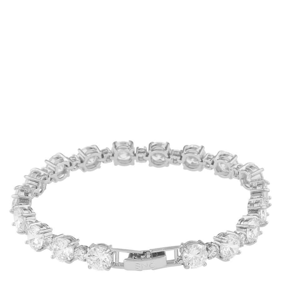Snö of Sweden Duo Bracelet Silver/Clear