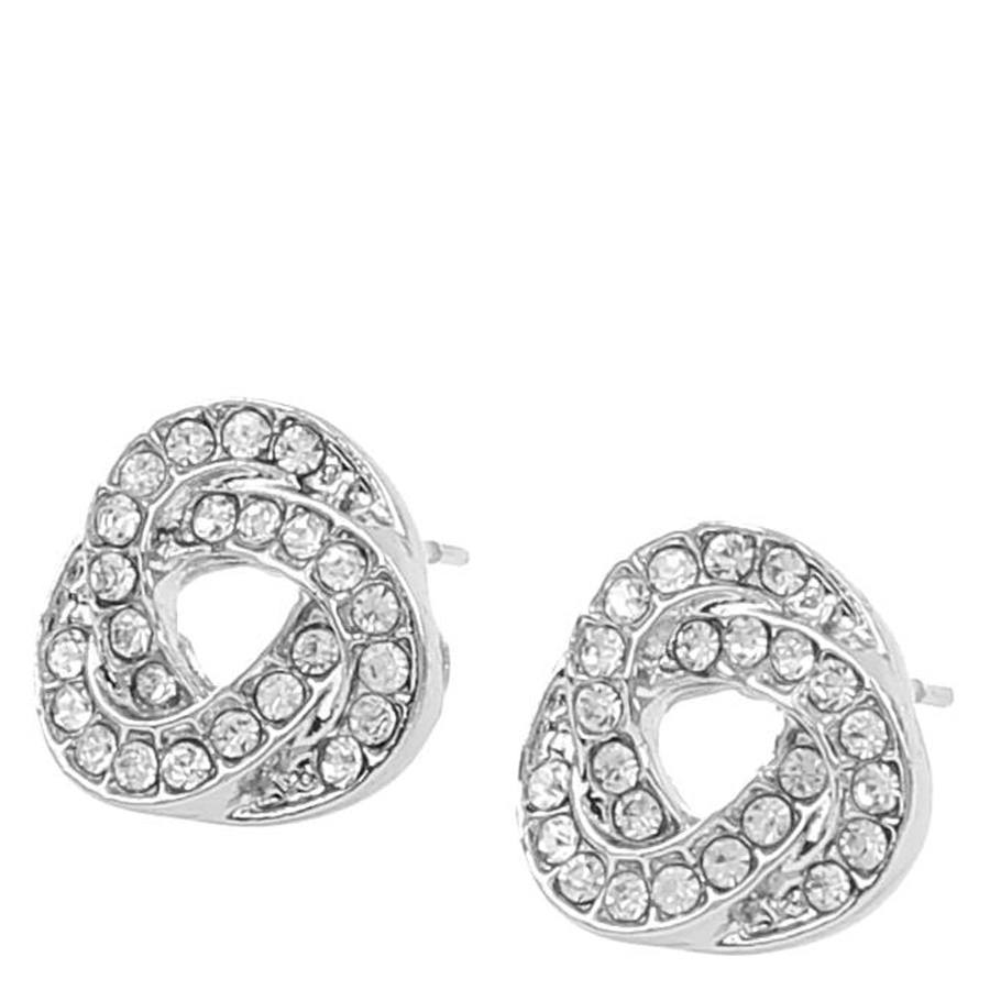 Snö of Sweden Leonie Small Earring Silver/Clear