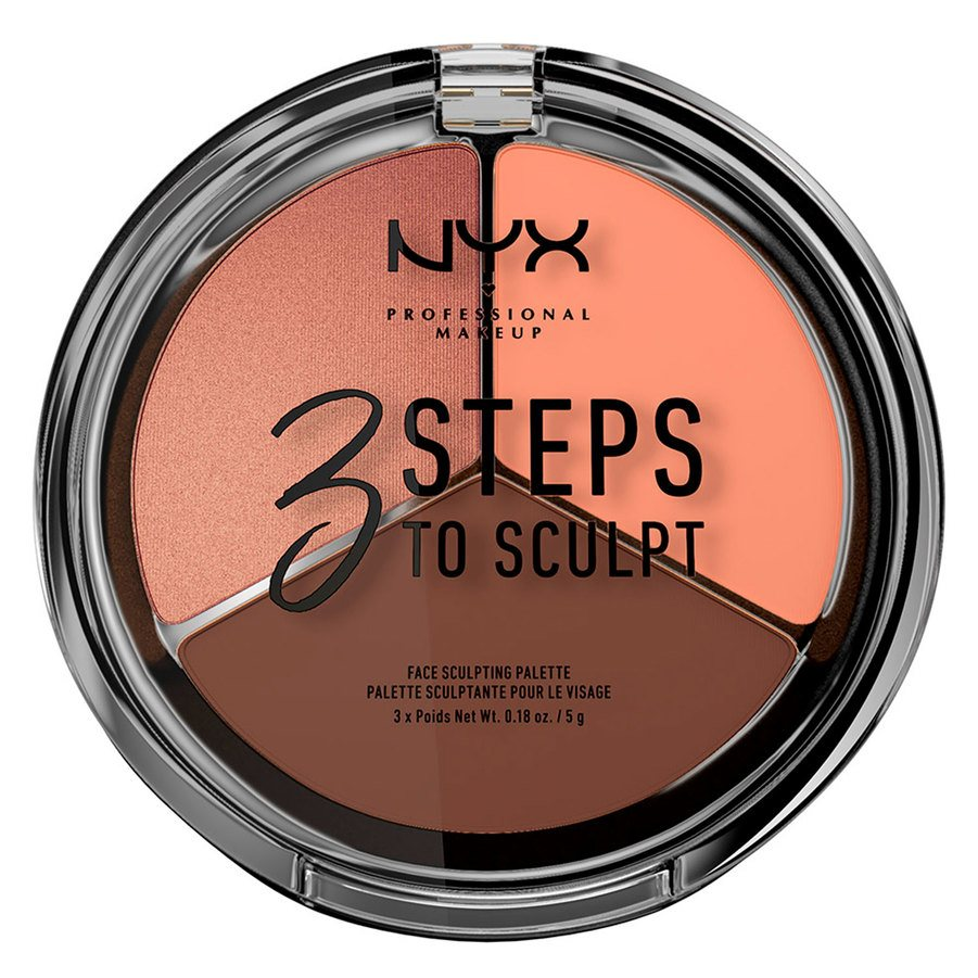 NYX Professional Makeup 3 Steps To Sculpt Deep 5g