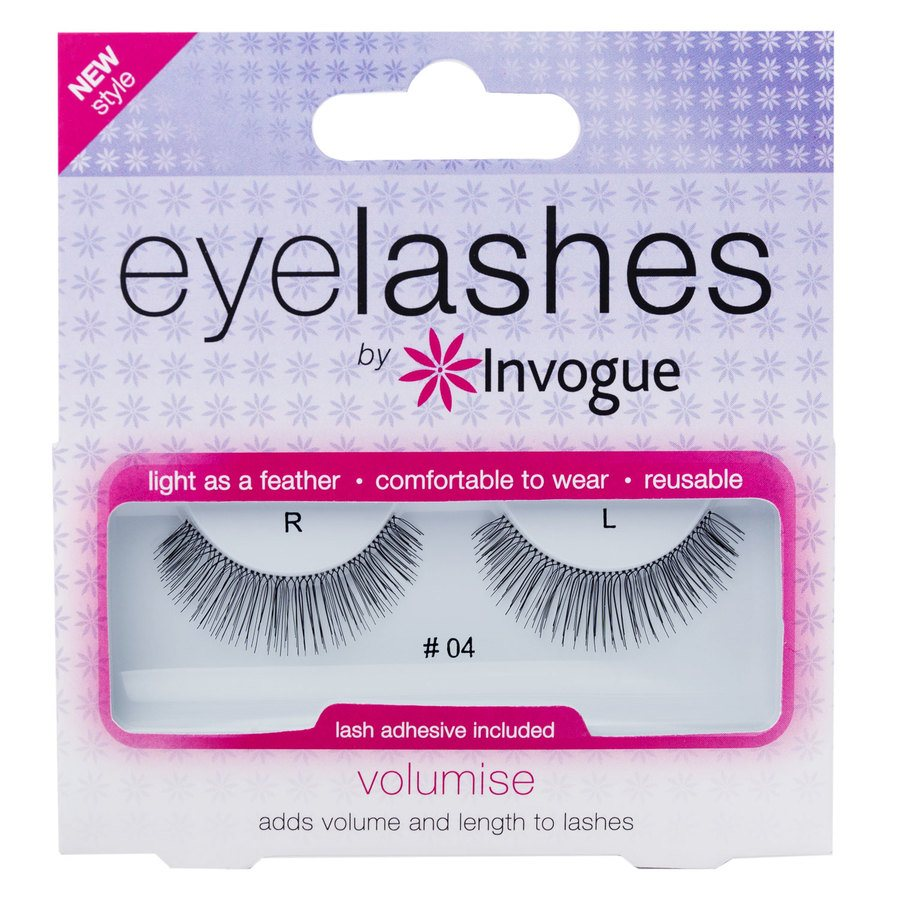 Invogue Eyelashes Volumise # 4