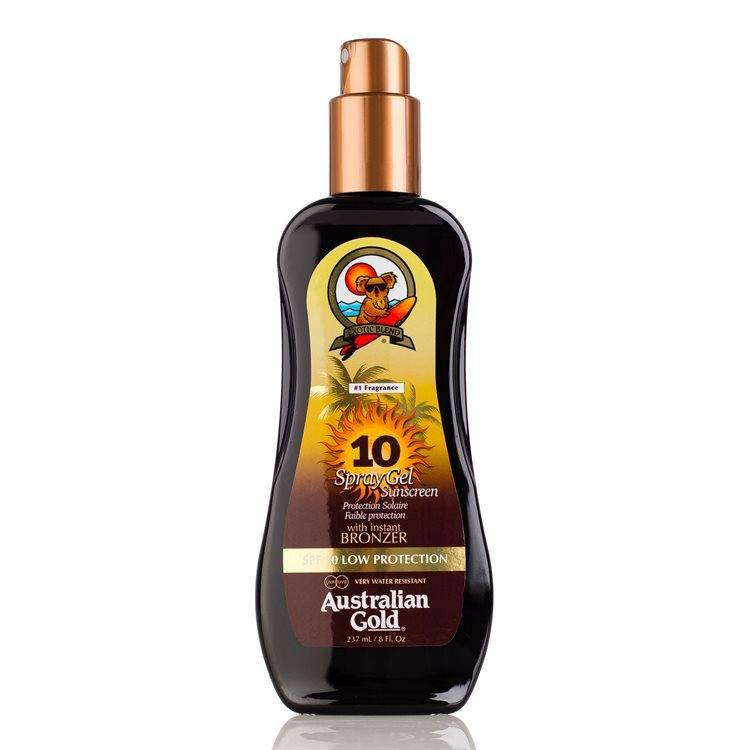 Australian Gold SPF 10 Spray Gel bronzer 237 ml