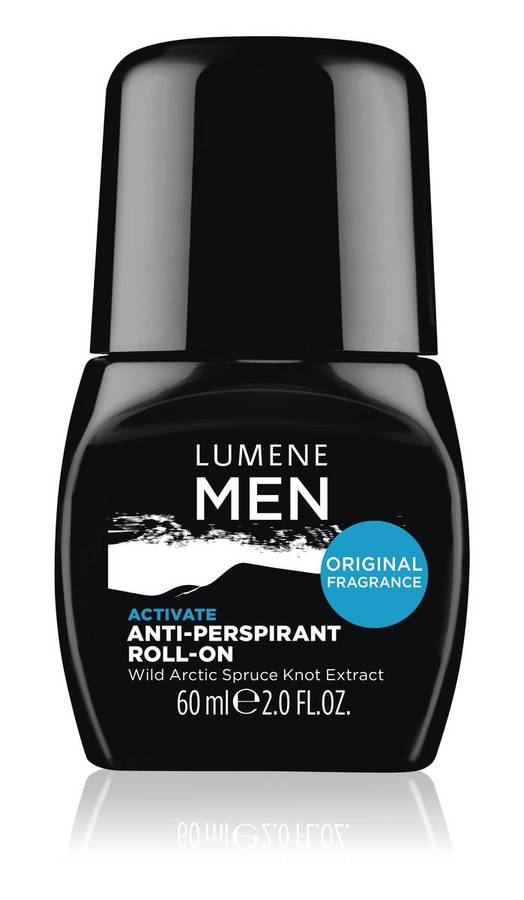 Lumene Men Activate Anti-Perspirant Roll-On 60ml