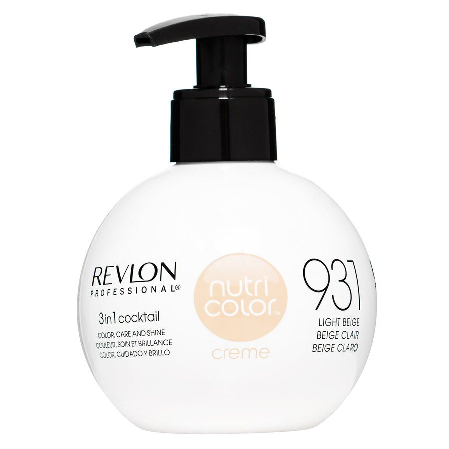 Revlon Professional Nutri Color Creme 250 ml #931 Light Beige
