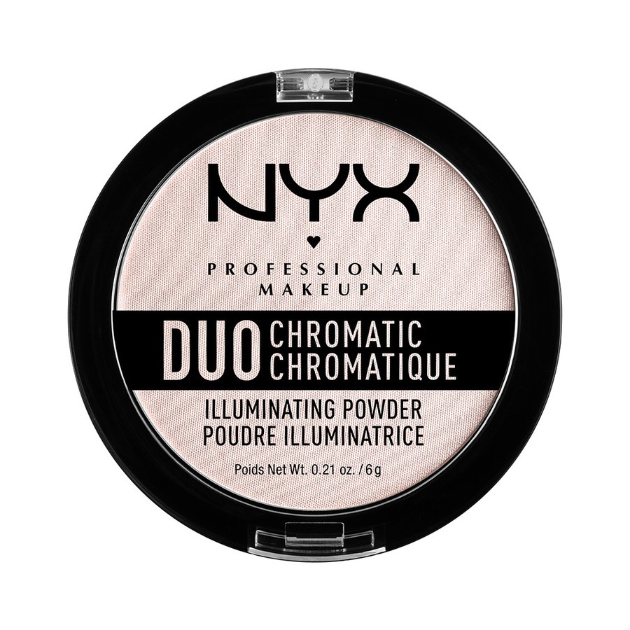 NYX Professional Makeup Duo Chromatic Illuminating Powder Snow Rose DCIP04