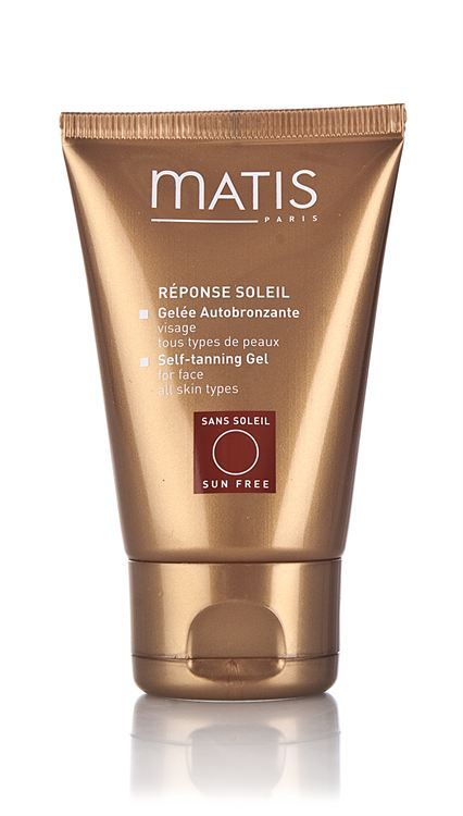 Matis Réponse Soleil Self-Tanning Gel For Face 50 ml