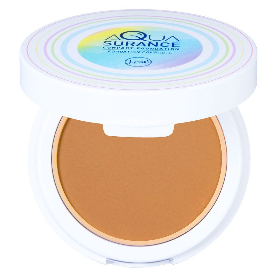 J.Cat Aquasurance Compact Foundation Golden Beige 9g