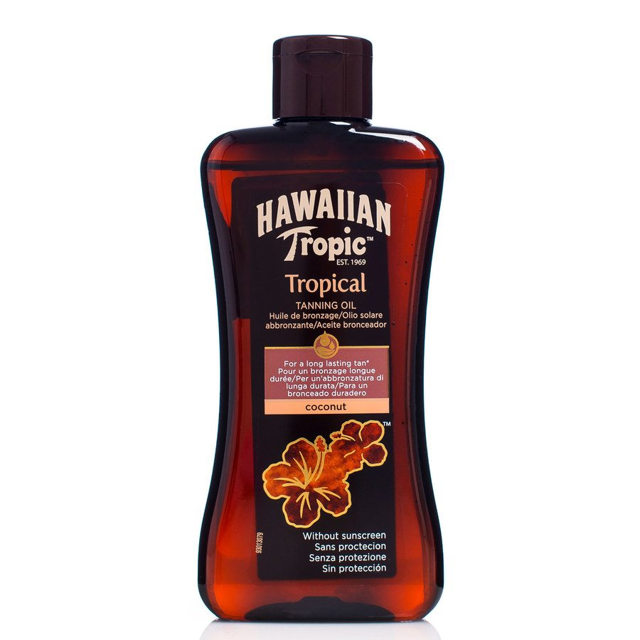 Hawaiian Tropic Tanning Oil Coconut 200 ml