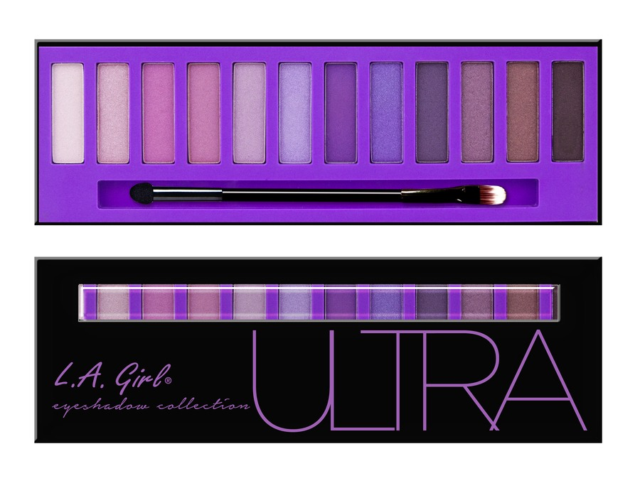 L.A. Girl Beauty Brick Eyeshadow Collection Ultra GES333